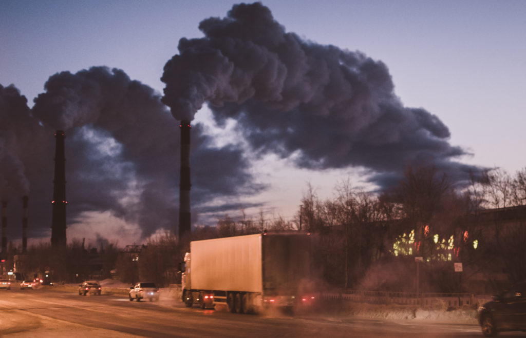 Industry air pollution
