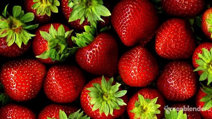 Strawberries antioxidant food