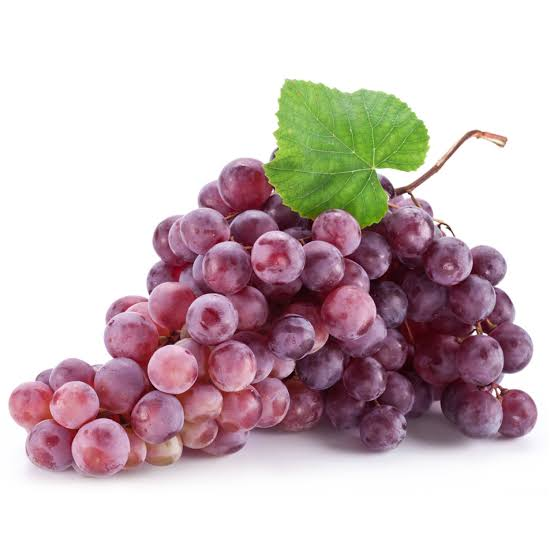 Purple or red grapes antioxidant food