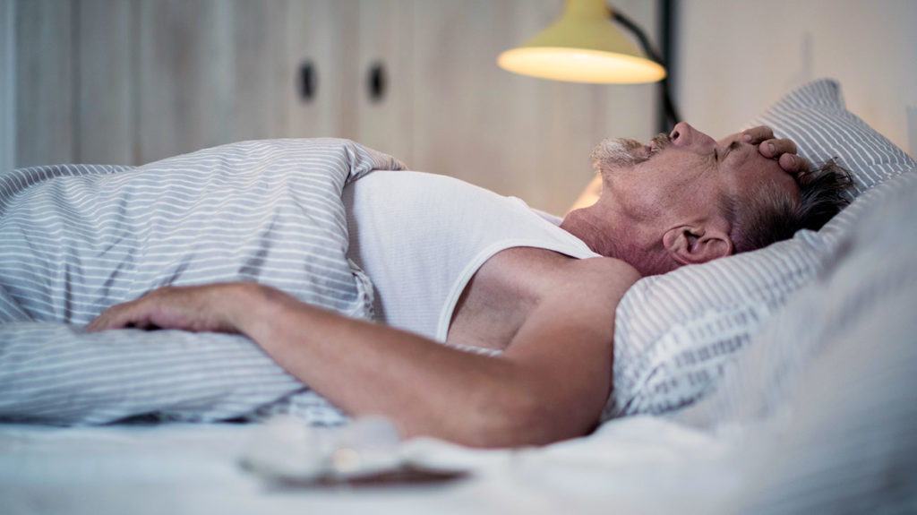 A person may be at greater risk for sleep apnea if he or she has a family history of the disorder.