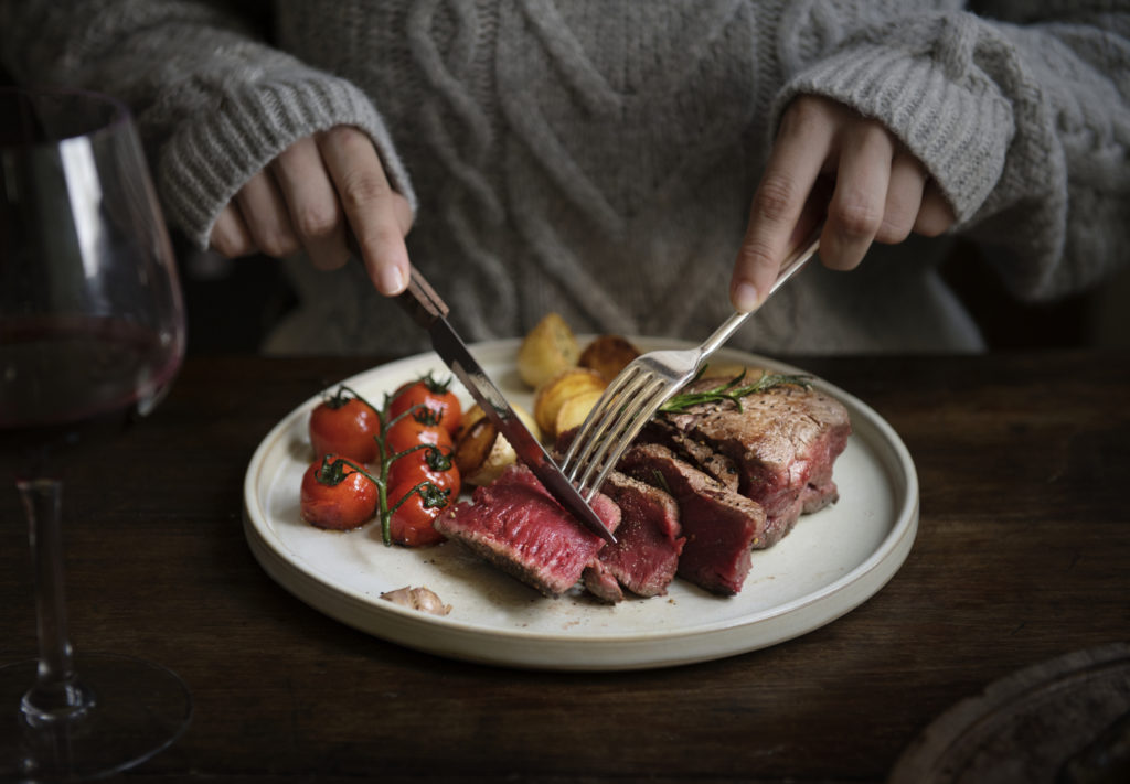 Eating high protein foods