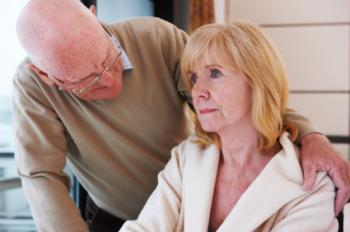 Symptoms of dementia include memory loss, disorientation and changes in mood.