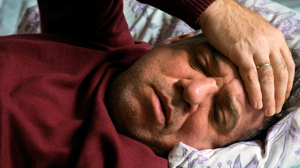 Fatigue can make it hard to stay awake or to get up in the morning.