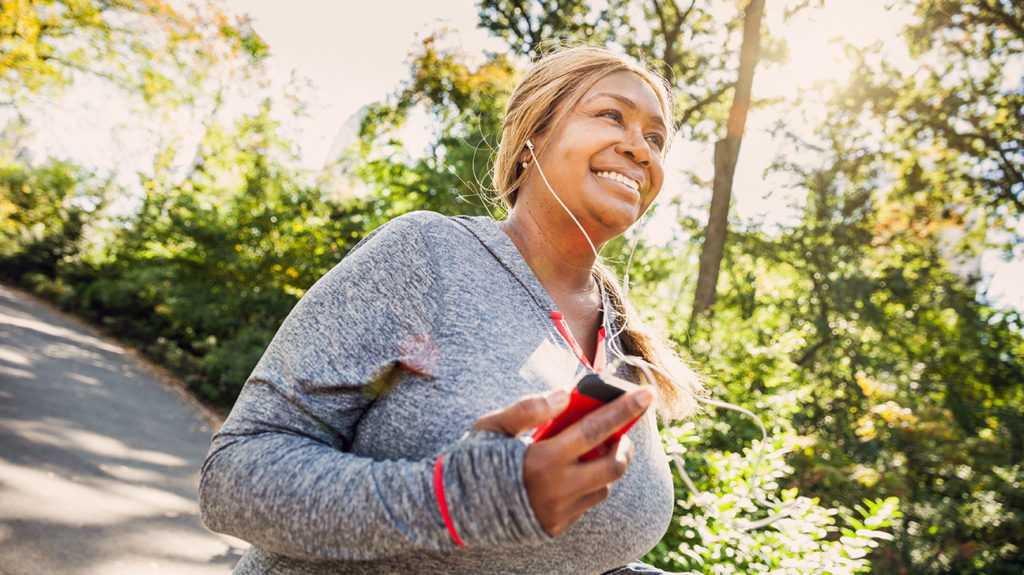 Exercising regularly may help improve ejection fraction.