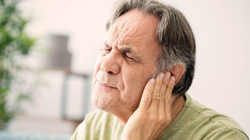 Eustachian tube dysfunction is a possible cause of crackling sounds in the ears.