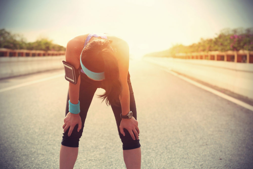 Sweating due to exercise or physical activity will increase the need to drink water.