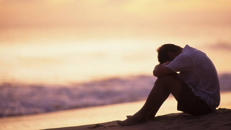 A person with depression may experience persistent sadness.
