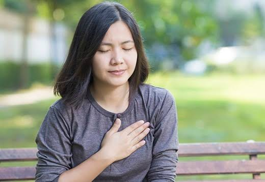 Angina is a chest pain linked to heart disease.