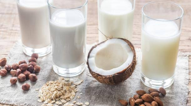 There is a wide range of non-dairy milks available.