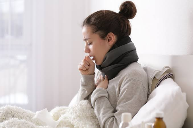 Coughing lady
