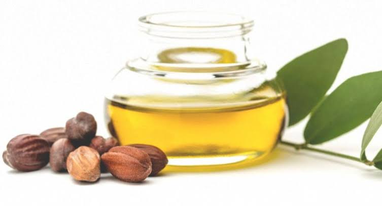 Jojoba oil is derived from the jojoba shrub and can be used to treat acne, eczema, and dermatitis.