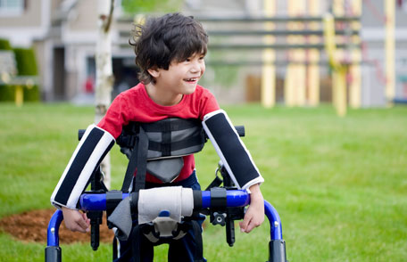 Cerebral palsy affects the muscles.