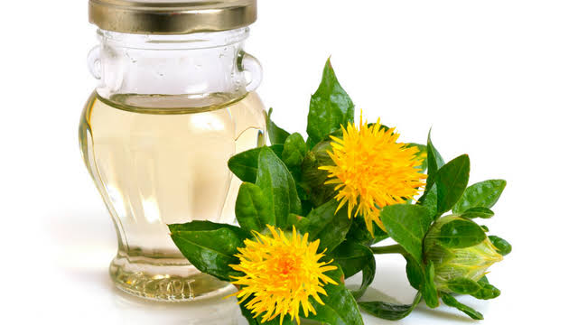 Safflower oil is made from the safflower plant.