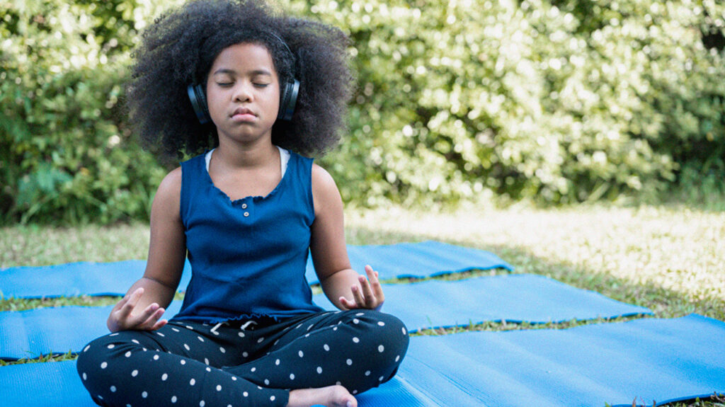 Meditation may help reduce anxiety in children