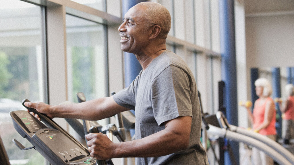 Exercise can help people maintain healthy immunity into older age. Image credit: Ariel Skelley/Getty Images