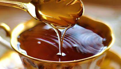 Honey can be used to treat a person's burnt skin.