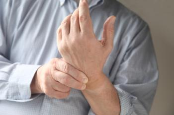 Carpal tunnel syndrome causes discomfort in the hand and up into the forearm.