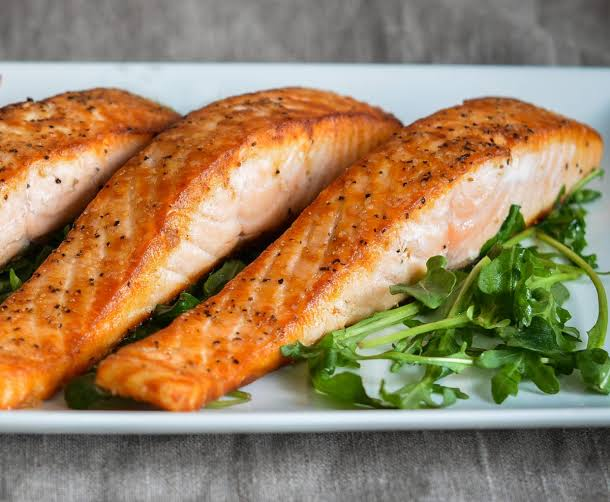 Salmon is an extremely healthful meal option.
