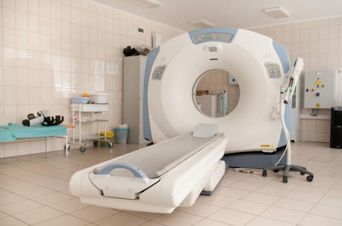 A CT scan