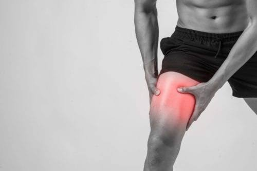 Muscle injuries, such as sprains and strains, are a common cause of pain in the upper thigh.