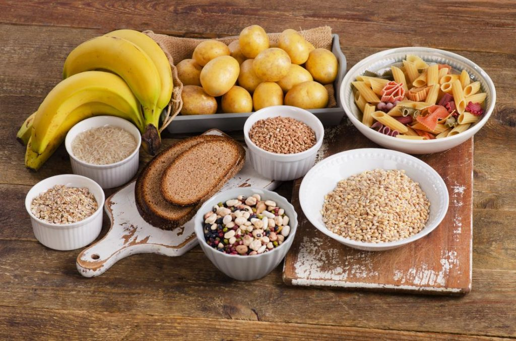 Foods rush in carbohydrate