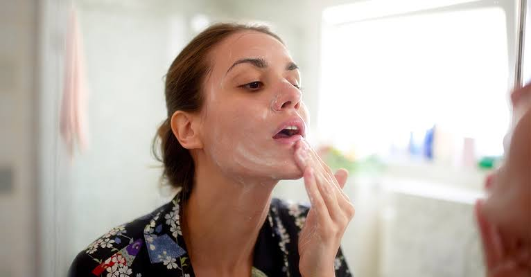 Cleansers and moisturizing creams