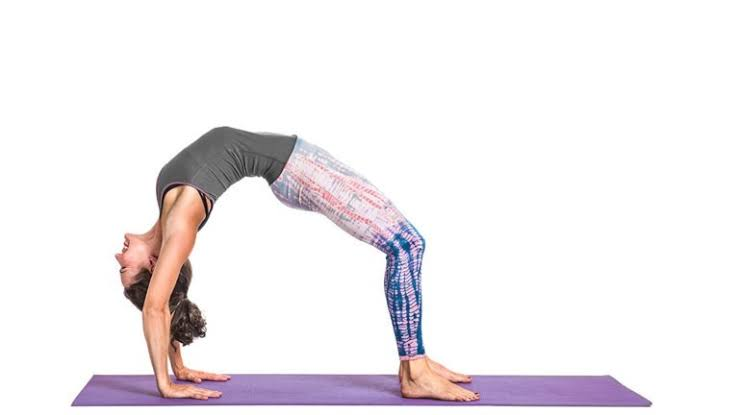 Yoga Upward Bow Pose