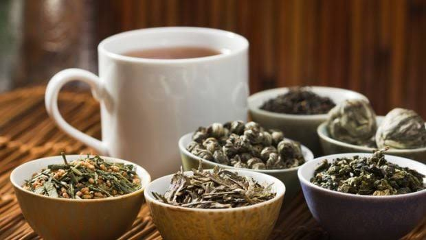 Some teas and herbal infusions