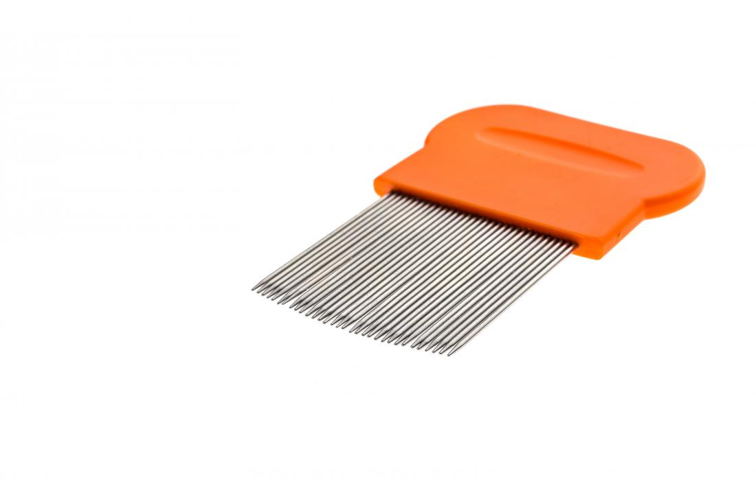 specialized lice comb