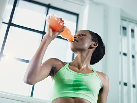 Soda and sports drinks have the potential to harm tooth enamel and lead to tooth decay.